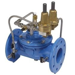 Hydraulic Pressure Reducing Valves With An Excess Flow Pilot And A Pressure Regulator Pilot