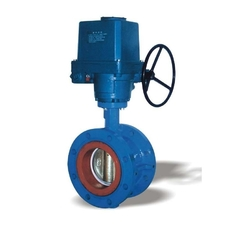 Electric Flanged motorized butterfly valve DN450 With Motor By 230V 50Hz
