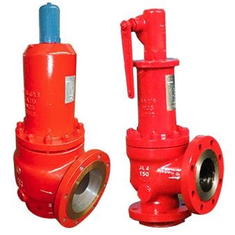 150# Full lift safety valve type Pressure Reducing Valves with Flanged end cast steel body